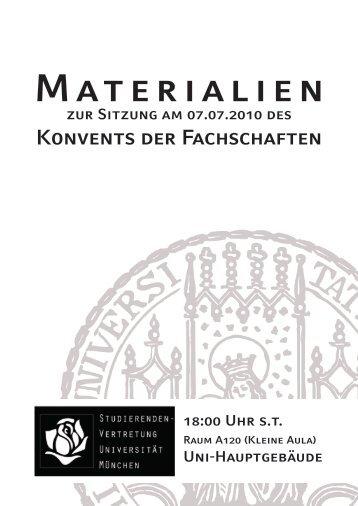 [PDF] Download - Studierendenvertretung
