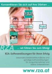 Zusatzmodule RZA-Fibu - RZA Rechenzentrum
