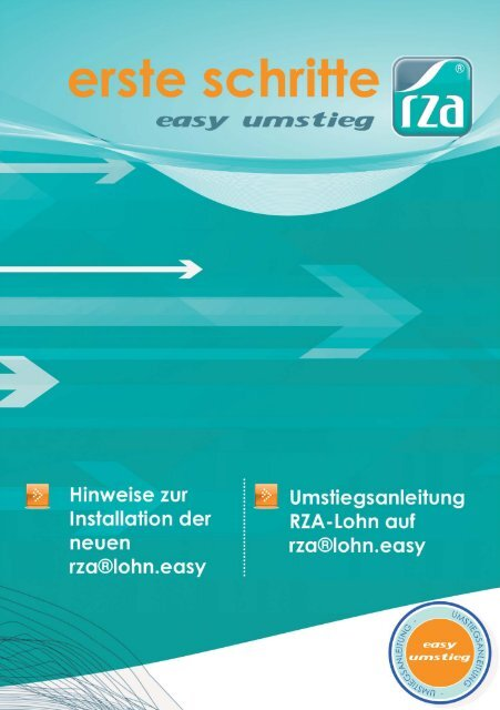 Schritt 3 - RZA Rechenzentrum
