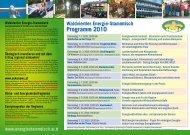 Waldviertler Energie-Stammtisch Programm 2010 ... - alpha grafik