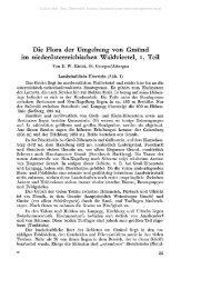 Die Flora der Umgebung von Gmünd im niederösterreichischen ...