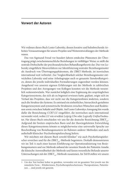 Beziehungsmuster und Beziehungskonflikte - Abitur-Hilfe.de