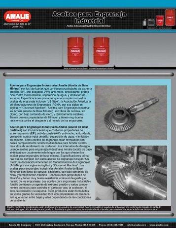 Aceites para Engranaje Industrial - AMCAR, Inc.