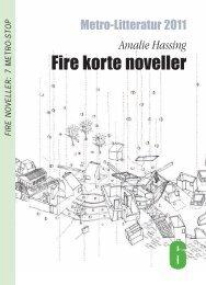 Amalie Hassing Fire korte noveller - Metro Litteratur