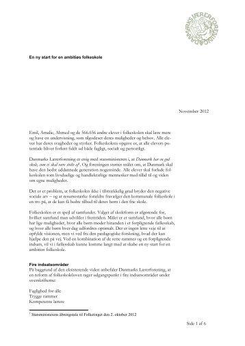 Side 1 af 6 November 2012 Emil, Amalie, Ahmed og de 566.656 ...