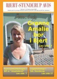 Grønne Amalie bor i Bjert - Bjert Stenderup Net-Avis