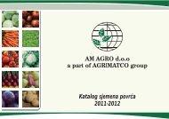 Katalog sjemena povrća 2012.pdf - AM AGRO doo