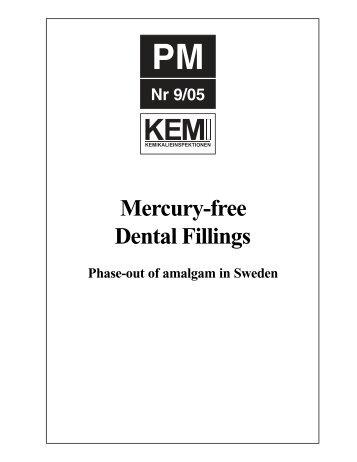 Mercury-free Dental Fillings, Phase-out of amalgam in Sweden