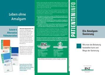 Schritt 4: Alternative Füllmaterialien Die Amalgam- Sanierung - BNZ