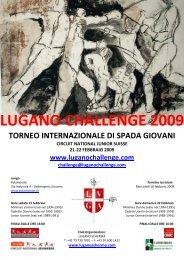 lugano challenge 2009 - Associazione Italiana Maestri di Scherma