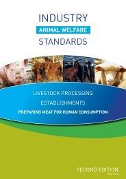 Animal Welfare Standards - Australian Meat Industry Council