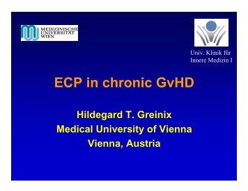 Hildegard T. Greinix Medical University of Vienna Vienna, Austria