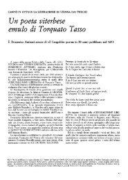 Un poeta uiterbese emulo di Torquato Tasso - Biblioteca ...
