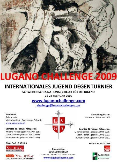 LUGANO CHALLENGE 2009 INTERNATIONALES ... - Nahouw