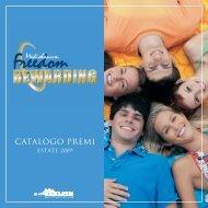 CATALOGO PREMI - Mediolanum - Prima Fila