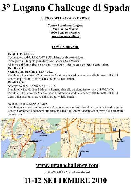 3° Lugano Challenge di Spada - Associazione Italiana Master ...