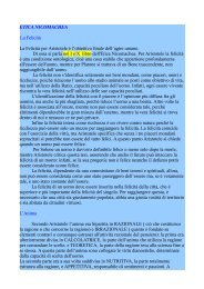 ETICA NICOMACHEA - Portale Filosofico