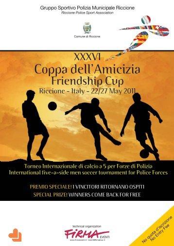 Coppa dell'Amicizia - Gruppo Sportivo Polizia Municipale Riccione