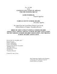 Purdham v. Fairfax County - National School Boards Association