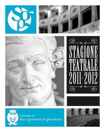 Teatro Comunale di San Giovanni in Persiceto - Comune di San ...