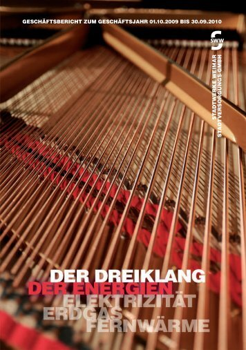 Geschäftsbericht_2010 - Stadtwerke Weimar