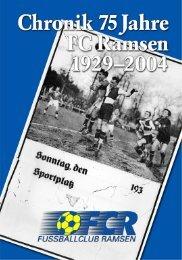 zur Chronik 1929 - 2004 - Fussball Club Ramsen