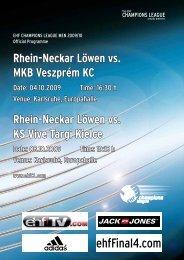 INTERVIEW Der - Rhein-Neckar Löwen