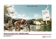 Reiseveranstalter 2011: NIEDERLANDE - Ramsau am Dachstein