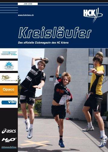 Der «Kreisläufer - HC Kriens-Luzern