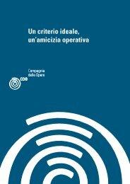 Un criterio ideale, un'amicizia operativa - CDO Pavia