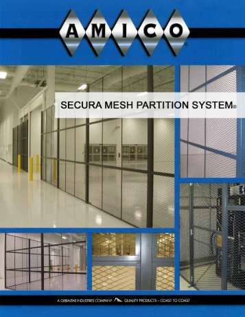 Secura Mesh Partition System - AMICO Security Products