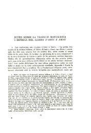 Notes sobre la tradició manuscrita i impresa del Llibre d'Amic e Amat