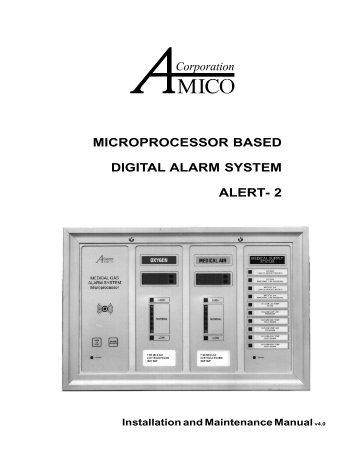 microprocessor based digital alarm system alert - Medical Gas Experts