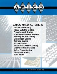 AMICO Grating and Expanded Metal