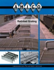 Railroad Grating Section - AMICO Grating