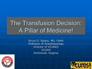 The Transfusion Decision