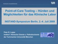 Point-of-Care Testing - INSTAND eV