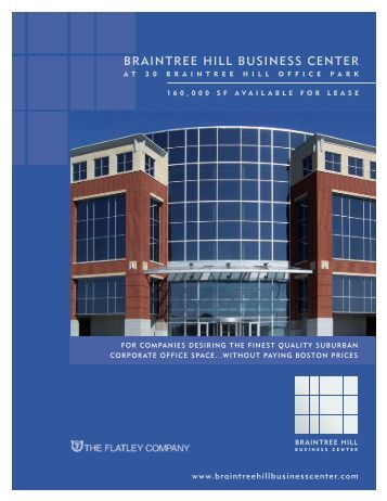 braintree hill business center - The Flatley Company