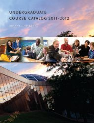 undergraduate course catalog 2011-2012 - Amica Center for Career ...