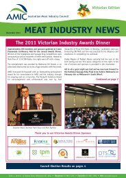 Victorian Export Meatworks (Beef) - Australian Meat Industry Council