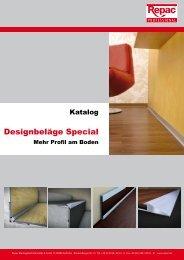 Gesamtkatalog Repac ® Profile und Leisten für Designbeläge - MAPA
