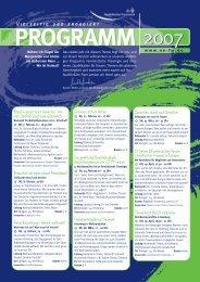 Programm 2007 - Nordelbisches Frauenwerk