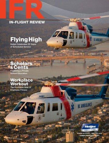 FlyingHigh - In-Flight Review Magazine Helijet International Inc.