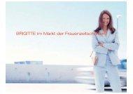 BRIGITTE im Markt der Frauenzeitschriften - Gruner + Jahr