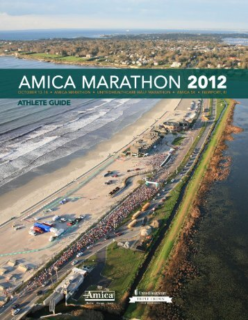 Health care is rapidly changing. UnitedHealthcare ... - Amica Marathon