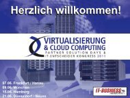 Cloud Computing - Amiando