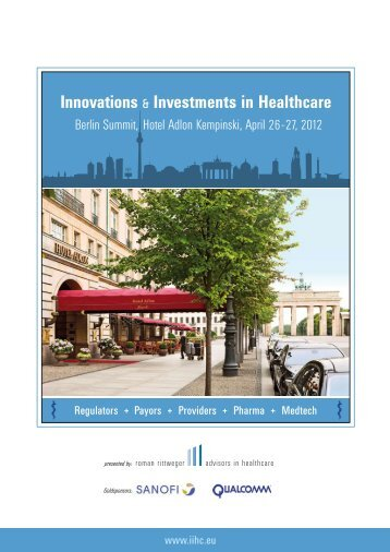 Innovations & Investments in Healthcare - Amiando