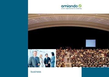 Event einrichten - Amiando