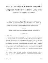 AMICA: An Adaptive Mixture of Independent Component Analyzers ...
