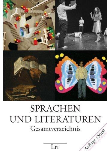 Sprachen und Literaturen - LIT Verlag